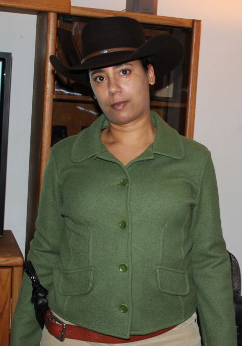 Shannon as Django