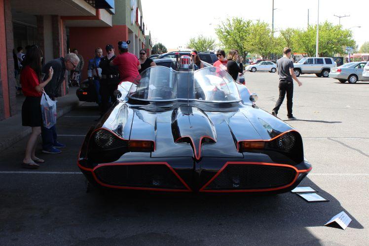 Batmobile front