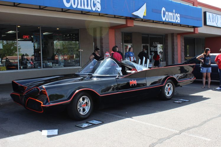 Batmobile long angle