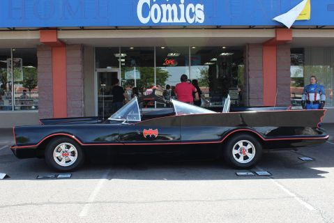 Batmobile side