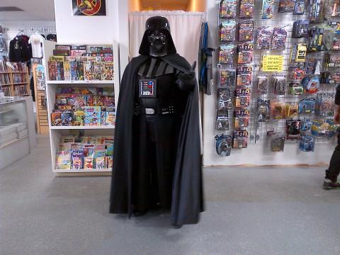 Darth Vader at Kaboom