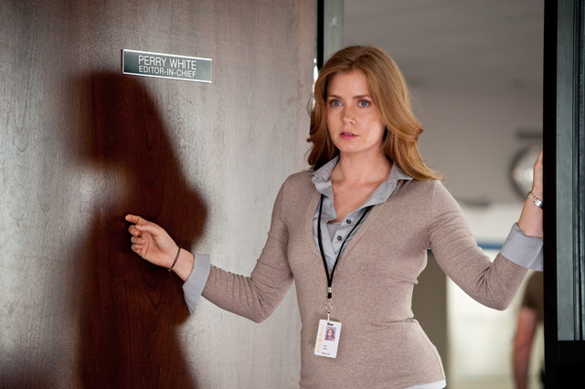 "AMY ADAMS as Lois Lane in Warner Bros. Pictures' and Legendary Pictures' action adventure ""MAN OF STEEL,"" a Warner Bros. Pictures release. Photo source: KryptonSite:"