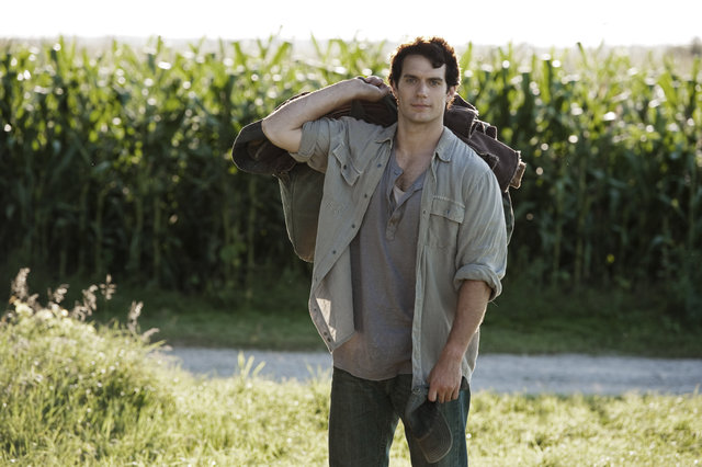 "HENRY CAVILL as Clark Kent in Warner Bros. Pictures' and Legendary Pictures' action adventure ""MAN OF STEEL,"" a Warner Bros. Pictures release. Source: KryptonSite - http://bit.ly/18YwAJH"