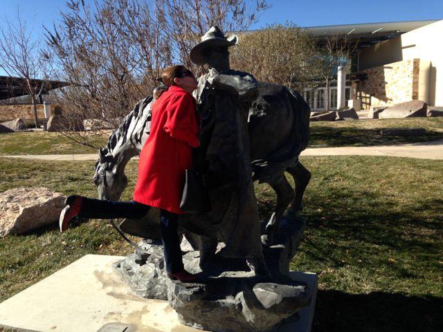 Martha loves her some cowboy.