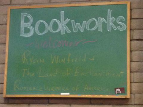 ReadWriteBliss_BookworksSign