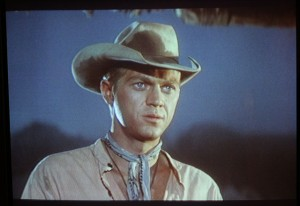 "Steve McQueen as Vin in ""The Magnificent Seven"""